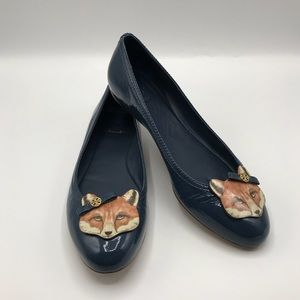 Tory Burch Fox Ballet Flats